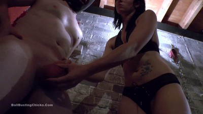 Mistress Pip - Full  Into His Nuts