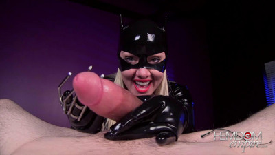 Lexi Sindel Catwoman Cum Extraction