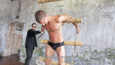 RusCapturedBoys - A New Captive From Shibari Maestro - I