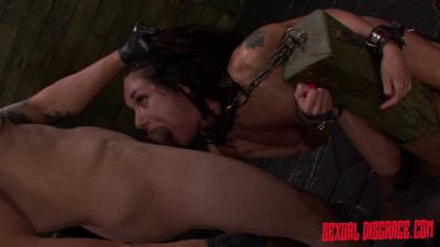 Isa Mendez Earns A Facial After Bondage Slave Training Session