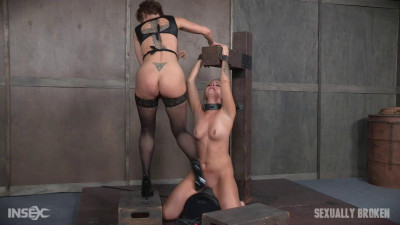 Unbelievably Hot Madelyn Monroe Bound To Sybian and Used By Couple! (2016)