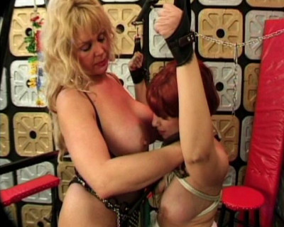 Mature slut gets tormented