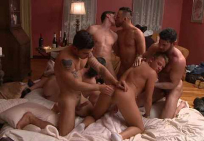 First Gang Bang With Amazing Porn Stars