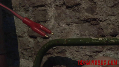 BDSMPrison – Mirela Is Tormented With A Cattle Prod In Punishment & Imprisonment