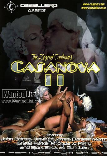 Casanova 2 - Further Adventures of Casanova (Carlos Tobalina, Caballero Home Video)