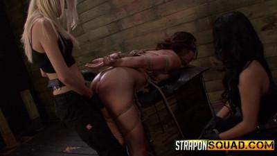 Mena Li Needs More Slut Training With Lexy Villa & Mila Blaze