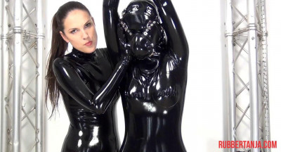 Rubber Bondage And Fuck With Heavy System Hood Part Three (2014)