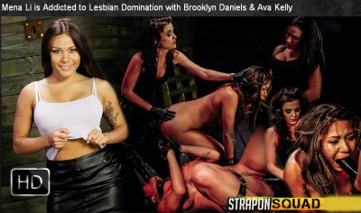 StraponSquad - Nov 07, 2014 - Mena Li is Addicted to Lesbian Domination