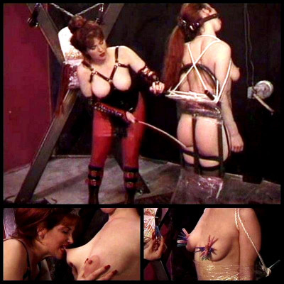 Big Tit Slave Gets Pain Educated - BT