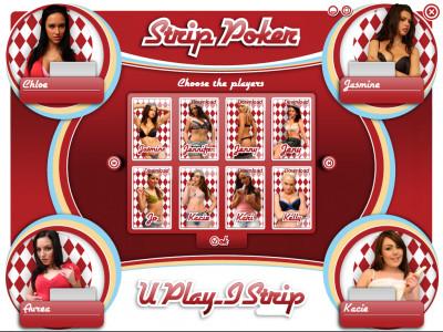 Strip Poker (Texas Holdem) + 96 models
