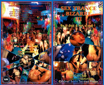 KitKat Club - Sex Trance Bizarre III - Be a God & not a
