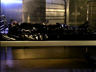 Hot Latex action and Bondage predicaments