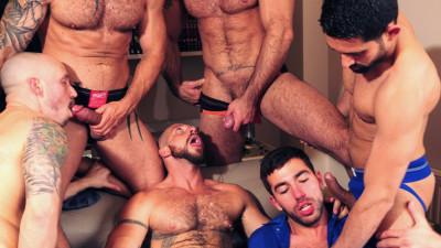 US vs. Europe 7 Man Orgy (Sep 4, 2014)