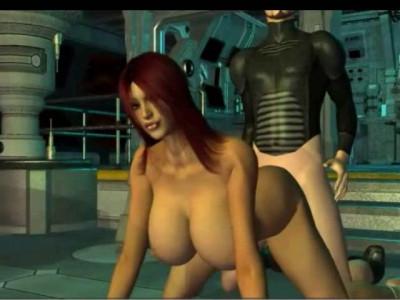 Nude Beyonce 3D Space Adventures