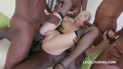 Black Busters, five on one Bree Haze interracial Dp Dap Gapes so fucking deep! (2016)