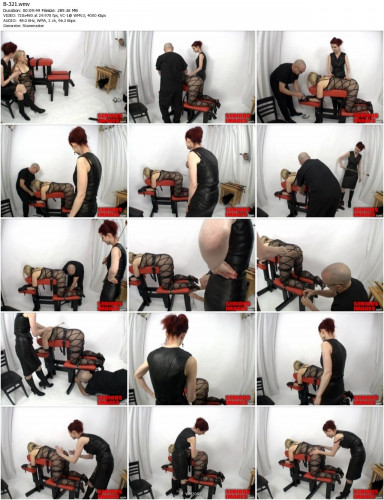 Mistress Liliane Hunt SubMissAnn Spanking Bench Part 1 (2011)