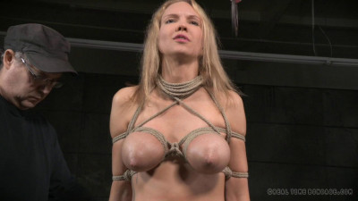 Big Breasted Blonde Rain DeGrey Tightly Tied Brutal Deepthroat Massive Multiple Orgasms (2015)