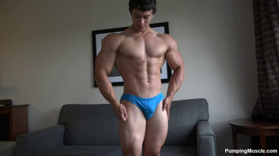 Pumping Muscle — Phillip V (Trey T) Photo Shoot