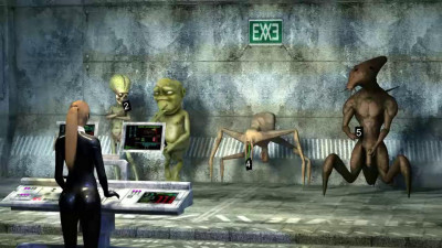Alien Gang Bang 3D Full HD
