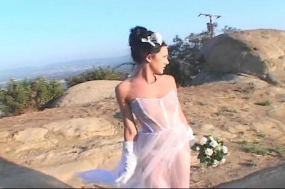 Bride gets ass fucked