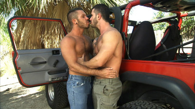 Adam , Cavin Knight and Damien Stone - Overheated Scene 3
