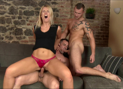 Hot Bi-Fucking of Alex Stan, Andy West & Sweet Cat (1080p)