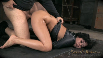 Nubile Mia Austin Stuck In Straightjacket Deepthroats Inverted Suspension Rough Sex (2015)