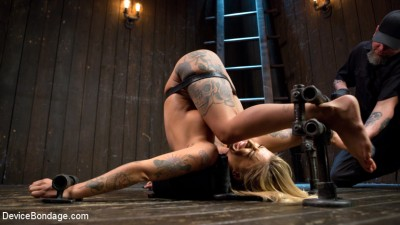 Super Sexy ALT Pain Slut Captured in Brutal Bondage and Tormented