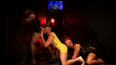 TitanMen Exclusives Aymeric DeVille, Hunter Marx and Francois Sagat -- Incubus -- Scene 3