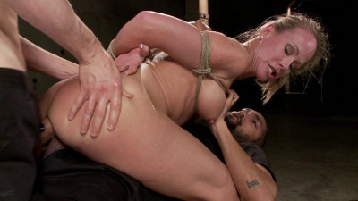 Fuckedandbound – 05-16-2014 – MILF Whore Stuffed With 2 Huge Cocks