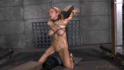 Stunning Starlet Violet Monroe Restrained Doggy Style