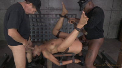Lean Latina Lyla Storm Completely Destroyed By Cock