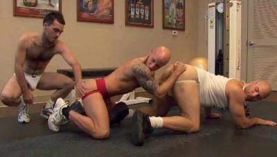 Rough Anal At Rim Gym