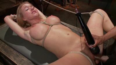 Hot Blonde Takes Huge Cock