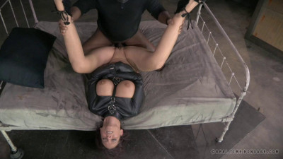 Brutal MILF DP on BBC as Syren De Mer is straight jacket fucked to utter sexual destruction!