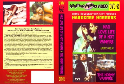 The Horny Vampire (Ray Dennis Steckler, Something Weird)