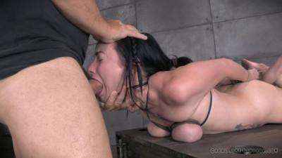 Realtimebondage - Nov 04, 2014- Sexy Veruca James restrained in tight hogtie... - Veruca James