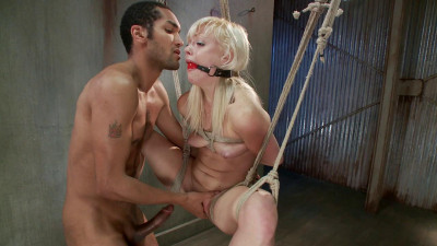 Fuckedandbound - 01-17-2014 - Cute Young Blonde Overwhelmed with Bondage and Cock