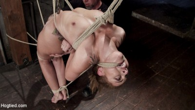 Extreme bondage, brutal torment, and intense orgasm denial.