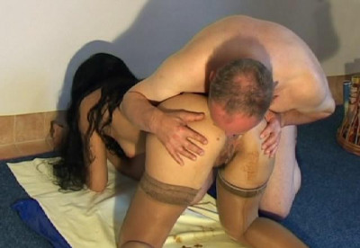 Young pussy in the shit. A very sexy video