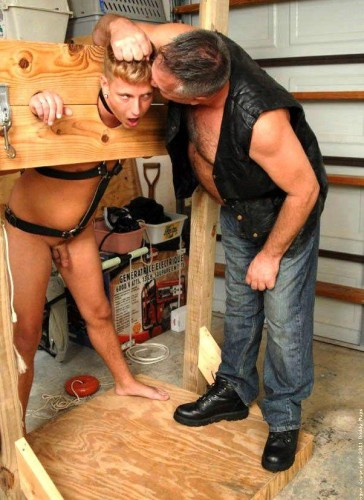 Daddy Mugs and Roman In The Dungeon