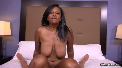 41 year old hot busty big booty black mom - E240