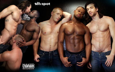 NakedSword The Ten Spot - Episode Four - Ten Minutes in Heaven - Woody Fox, Luke Diamond and S