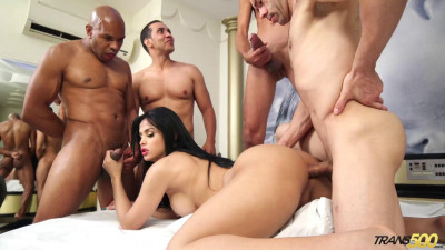 Bruna Butterfly Bruna's First Gangbang (2015)