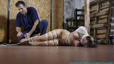Courtney Begs for Bondage, Gags, and Punishment 3part — BDSM, Humiliation, Torture HD 720p