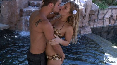 Zeb & Tiffany's Poolside Plunge