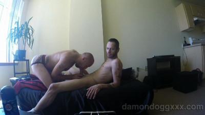 Damon Dogg loading up Dice