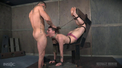Sierra Cirque Face Fucked In Extreme Bondage! (2016)