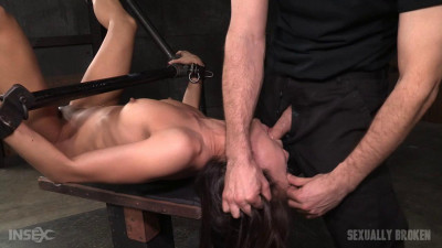 Legendary Kalina Ryu Bound And Used Hard In Classic Fuck Me Position With Facefucking