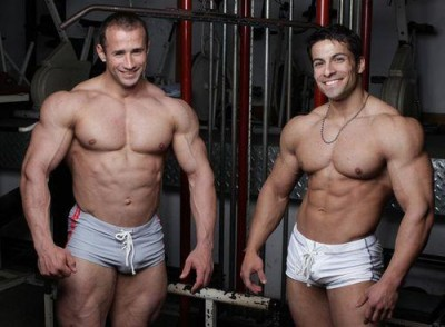 Musclehunks - Gordon Burke and Benjamin Jackson